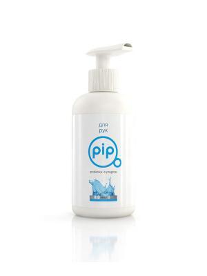 Pip жидкое мыло для рук пробиотическое 250мл дозатор. Цвет: белый