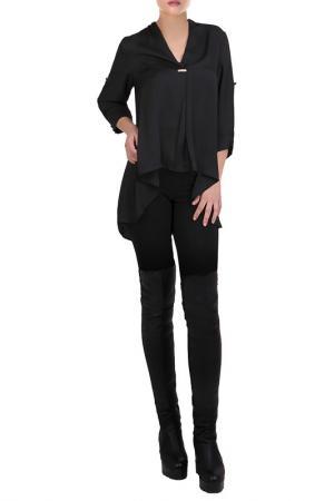 Рубашка JUNONA. Цвет: черный