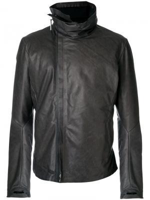 Кожаная куртка Isaac Sellam Experience. Цвет: серый