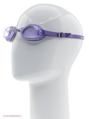 Очки для плавания Speedo. Цвет: сиреневый
