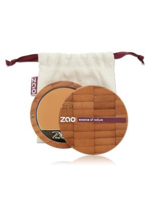 Zao Компактный Тональный Крем 731 (Абрикос), 6 Г. Цвет: бежевый, персиковый, светло-бежевый