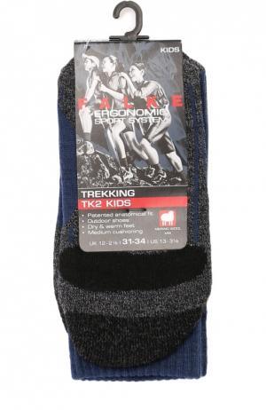 Спортивные носки с шерстью Falke. Цвет: синий