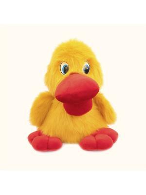 Мягкая игрушка Утенок Кряк Malvina. Цвет: желтый