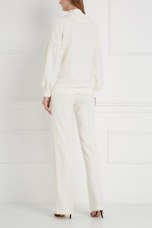 Широкие брюки LAROOM. Цвет: бежевый