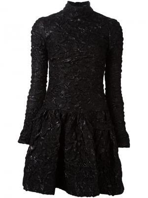 Фактурное платье Simone Rocha. Цвет: чёрный