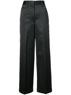 Широкие брюки Off-White. Цвет: чёрный