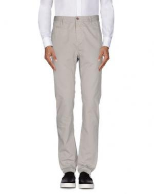 Повседневные брюки CLOSED. Цвет: светло-серый