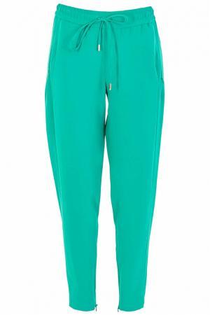 Спортивные брюки Frankie Morello. Цвет: зеленый