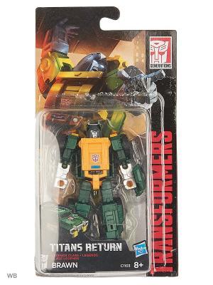 Трансформеры ДЖЕНЕРЭЙШНС: Войны Титанов Лэджендс Transformers. Цвет: темно-зеленый, светло-желтый
