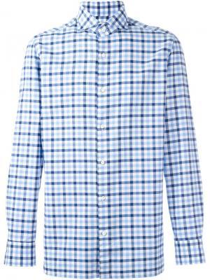 Рубашка Felice Borrelli. Цвет: синий