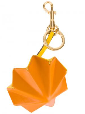 Брелок Trigger Circus Anya Hindmarch. Цвет: жёлтый и оранжевый