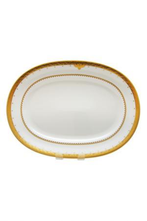 Блюдо Weimar. Цвет: золотой