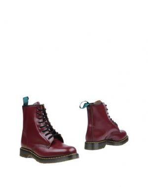 Полусапоги и высокие ботинки SOLOVAIR 1881. Цвет: баклажанный