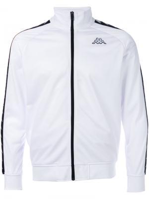 Zipped sport jacket Kappa. Цвет: белый