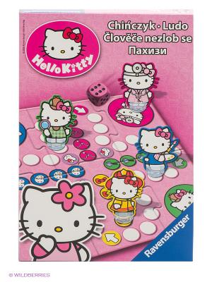 Настольная игра Пачиси Hello Kitty Ravensburger. Цвет: розовый