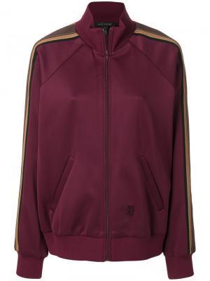 Спортивная куртка с полосками Marc Jacobs. Цвет: розовый и фиолетовый