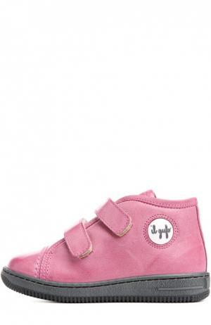 Кроссовки Il Gufo. Цвет: розовый