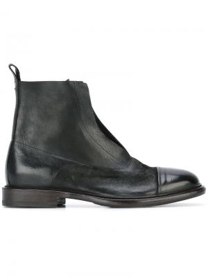 Ботинки по щиколотку Laboratorigarbo. Цвет: чёрный