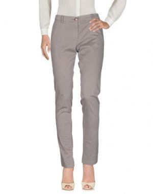 Повседневные брюки VERYSIMPLE. Цвет: серый