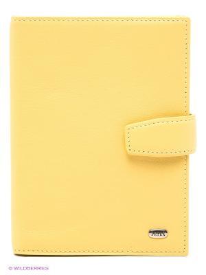 Обложка на документы Petek. Цвет: светло-желтый