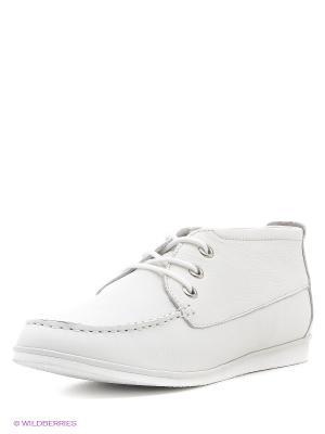 Ботинки Calipso. Цвет: бежевый