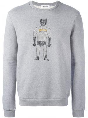 Толстовка Batman Jimi Roos. Цвет: серый