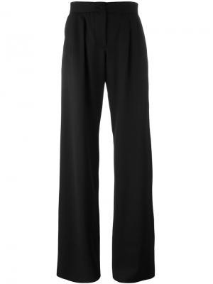 Широкие брюки Ssheena. Цвет: чёрный