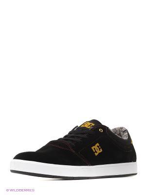 Кеды DC Shoes. Цвет: черный, желтый