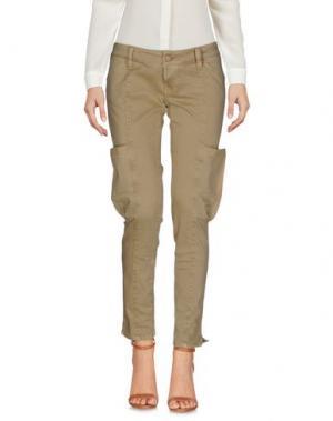 Повседневные брюки 2W2M. Цвет: бежевый