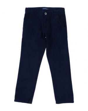 Повседневные брюки COTTON BELT. Цвет: темно-синий