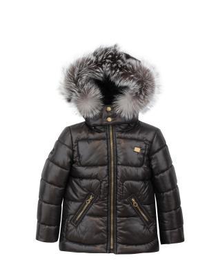 Куртка Pulka. Цвет: темно-серый