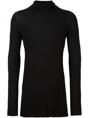 Пуловер с высокой горловиной Masnada. Цвет: чёрный