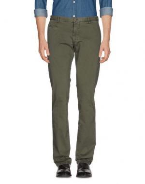 Повседневные брюки ALTEA. Цвет: зеленый-милитари