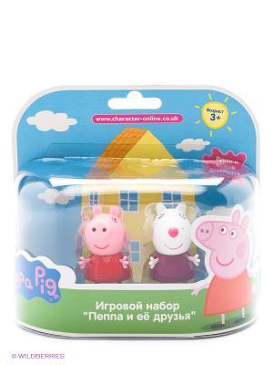 Игровой набор Пеппа и Сьюзи Peppa Pig. Цвет: белый, красный, розовый