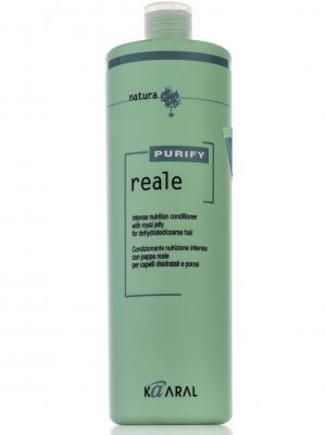 Purify Интенсивный восстанавливающий кондиционер для поврежденных волос Reale Conditioner 1000мл. Kaaral. Цвет: светло-зеленый