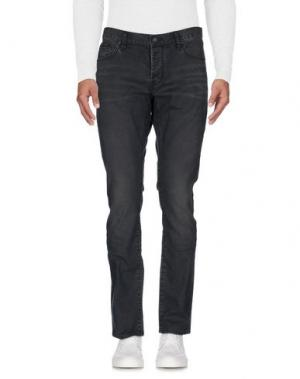 Джинсовые брюки JOHN VARVATOS ★ U.S.A.. Цвет: свинцово-серый