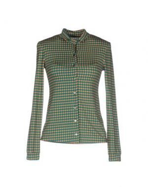 Pубашка SIYU. Цвет: зеленый
