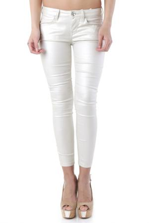 Trousers Fornarina. Цвет: white