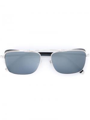 Солнцезащитные очки M3047 Matsuda. Цвет: чёрный
