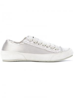 Lace-up sneakers Pedro Garcia. Цвет: серый