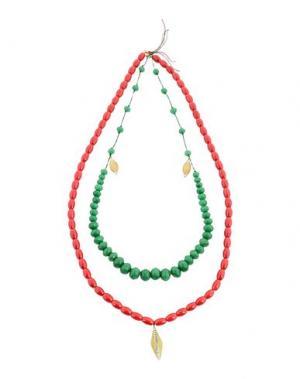 Ожерелье FORTE_FORTE. Цвет: красный