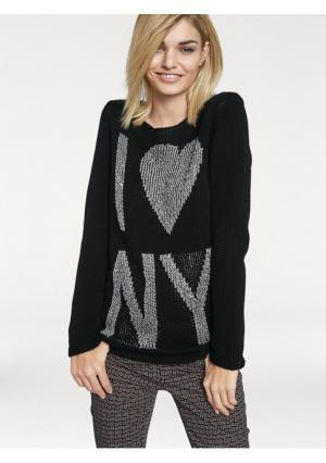 Пуловер Rick Cardona. Цвет: черный
