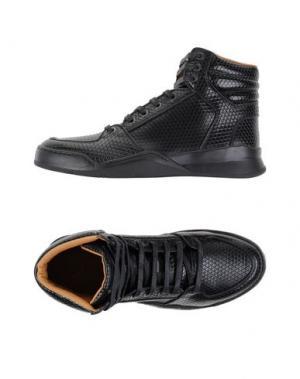 Высокие кеды и кроссовки MARC JACOBS. Цвет: черный