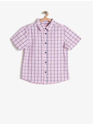 Рубашка KOTON. Цвет: розовый
