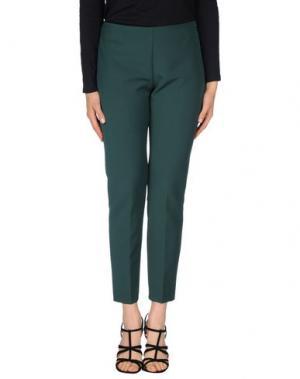 Повседневные брюки MY SIS. Цвет: зеленый