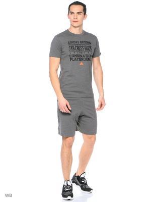 Шорты спортивные Base Shorts Adidas. Цвет: темно-серый