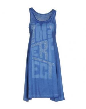 Короткое платье !M?ERFECT. Цвет: синий