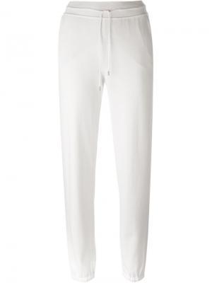 Спортивные брюки Loro Piana. Цвет: белый