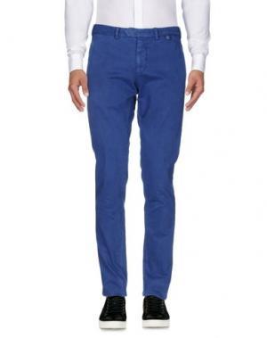 Повседневные брюки ALFONSO RAY. Цвет: синий