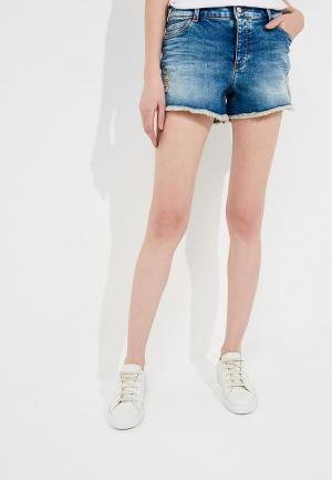 Шорты джинсовые Emporio Armani. Цвет: синий
